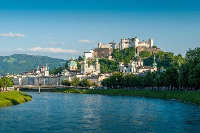 Hotel Kirchenwirt i Puch nær Salzburg, Østrig