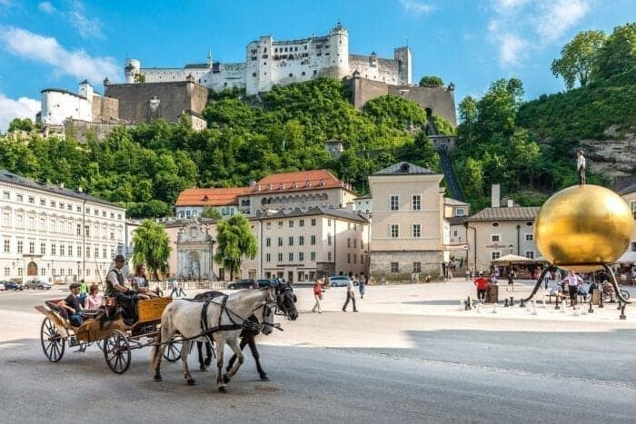 Activities and Excursions in Salzburg City - Hotel Kirchenwirt in Puch near Salzburg, Austria